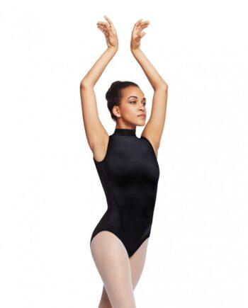 Capezio TC0048W Polo Neck Balletpakje zwart