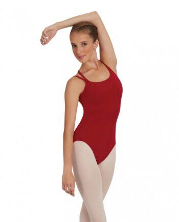 Capezio CC126 balletpakje camisole leotard w/criss cross straps