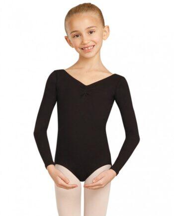 Capezio CC460C Long sleeve leotard balletpakje met lange mouw