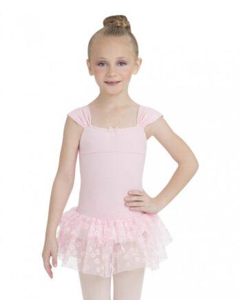 Capezio 10129C ruched strap dress
