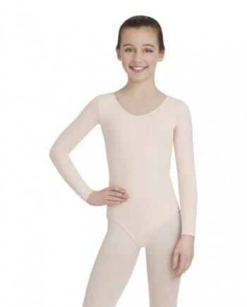Capezio TB135C balletpakje long sleeve leotard