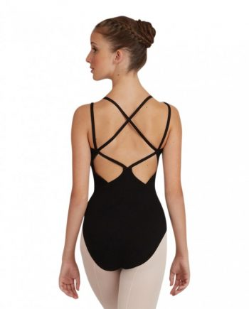 Capezio CC121 balletpakje lattice back camisole leotard