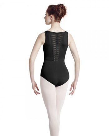 Bloch L3035 herfst collectie balletpakje achter zwart