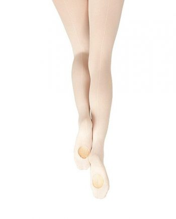 Capezio ballet panty, transition convertible, 1883 met naad