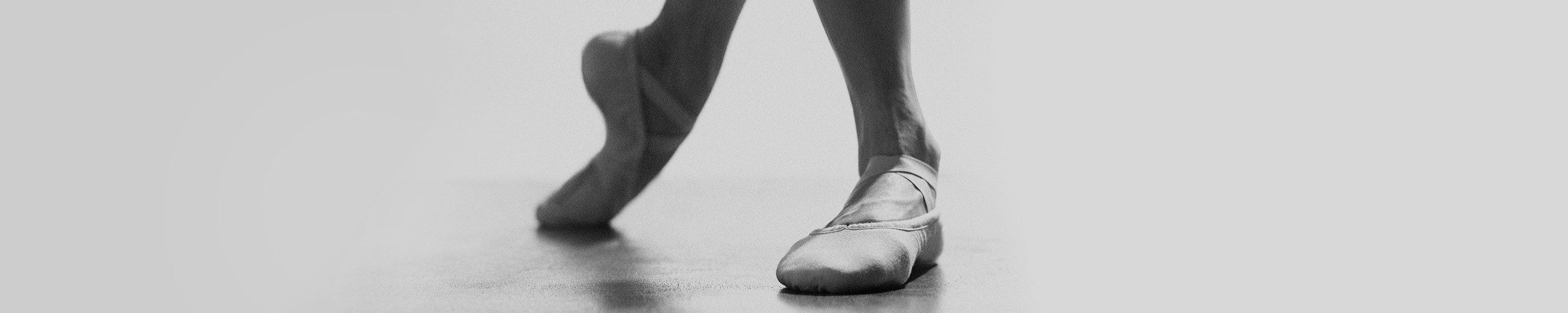 Balletschoentjes maten